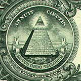 The pyramid on the Amercian one dollar bill